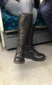I'm not normally one for boots, but a...
